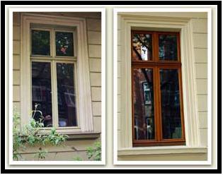 покраска окна и его утепление